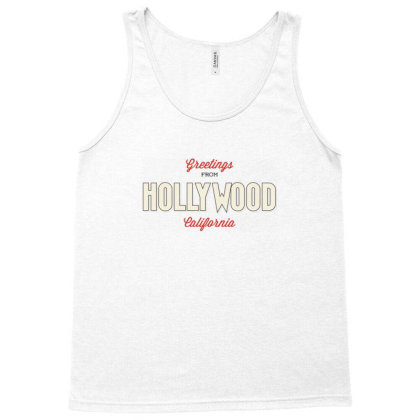 Hollywood, California Tank Top Designed By Estore