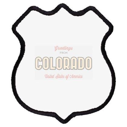 Colorado, United States Of America Shield Patch Designed By Estore