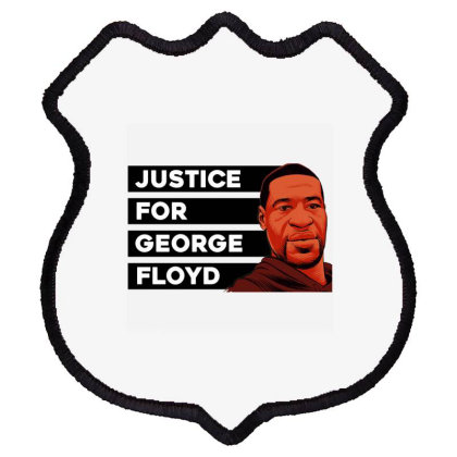Justice For George Floyd Shield Patch Designed By Cuser3914