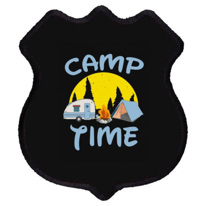 Camp Time Shield Patch Designed By Hoainv
