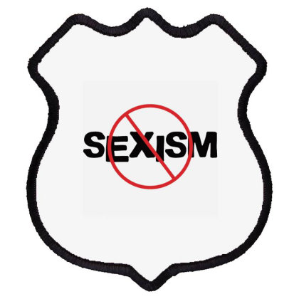 No Sexism Shield Patch Designed By Cuser3914