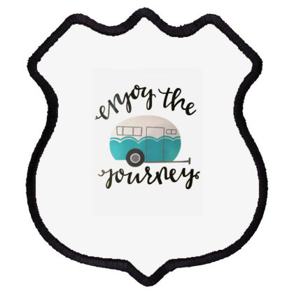 Camping Enjoy The Journey Shield Patch Designed By Hoainv