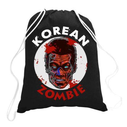 Korean Zombie Drawstring Bags Designed By Kamprett Apparel