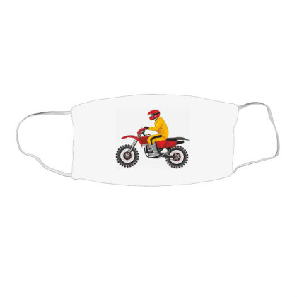 Biker, Motorcycle Face Mask Rectangle Designed By Estore