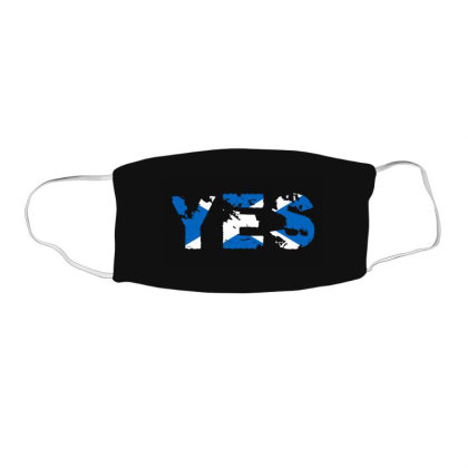 Scottish Independence Face Mask Rectangle Designed By Dark Omega