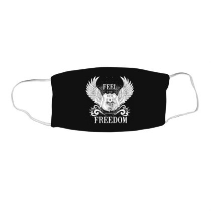 Feel The Freedom, Los Angeles Face Mask Rectangle Designed By Estore