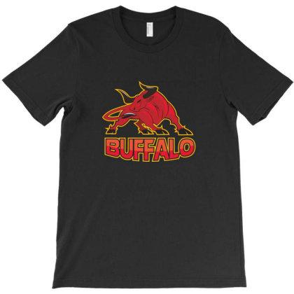 Buffalo, Bull T-shirt Designed By Estore
