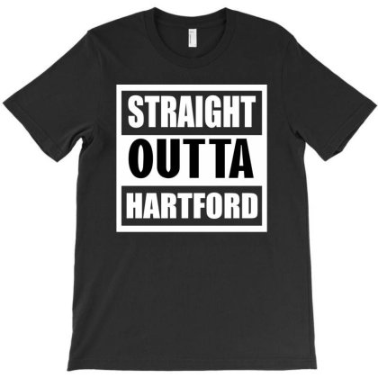 Straight Outta Hartford T-shirt Designed By Cuser2397