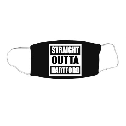Straight Outta Hartford Face Mask Rectangle Designed By Cuser2397
