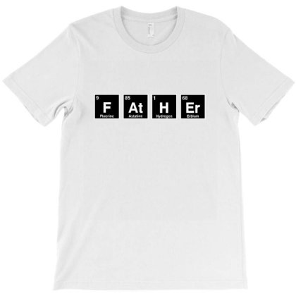 Father Periodic Table T-shirt Designed By Wd650