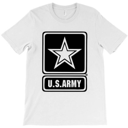 Us Army In Black Design T-shirt Designed By Hot Design