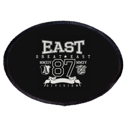 Great East Oval Patch Designed By Nur4