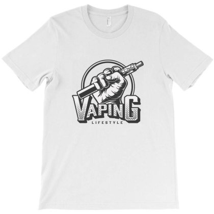 Vaping Life Style T-shirt Designed By Estore