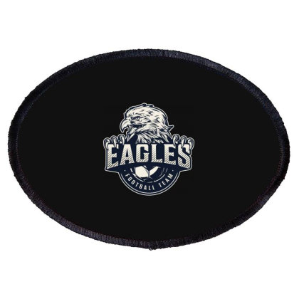 Eagles Football Team Oval Patch Designed By Estore