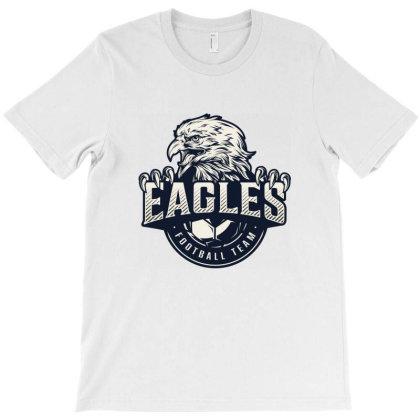 Eagles Football Team T-shirt Designed By Estore