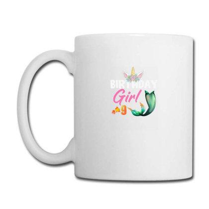 Birthday Girl 9 Years Old Coffee Mug