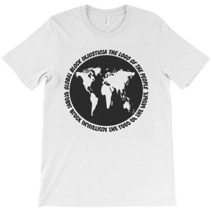 Global Block T-shirt Designed By Dav