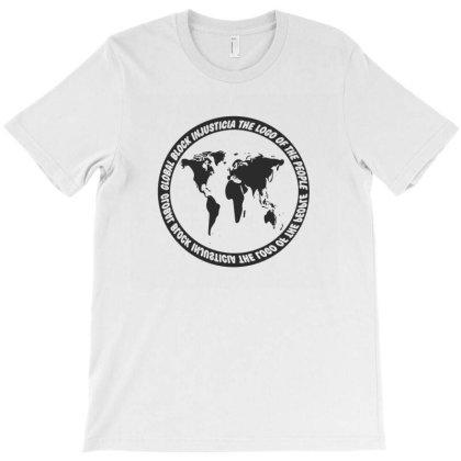 Global Block  Injusticia T-shirt Designed By Dav