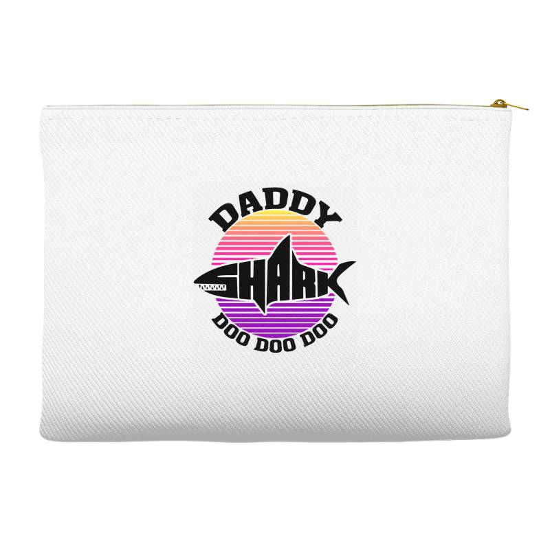 Daddy Shark Doo Doo Doo Accessory Pouches | Artistshot
