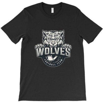 Wolves Football Team T-shirt Designed By Estore