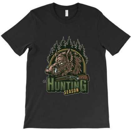Hunting  Season T-shirt Designed By Estore