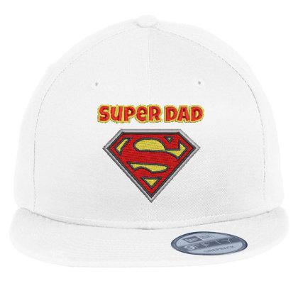 Super Dad Embroidered Hat Flat Bill Snapback Cap