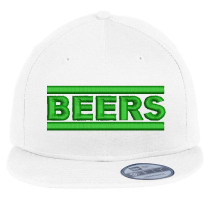 Beers Embroidered Hat Flat Bill Snapback Cap Designed By Madhatter