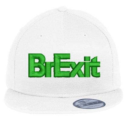 Brexit Embroidered Hat Flat Bill Snapback Cap Designed By Madhatter