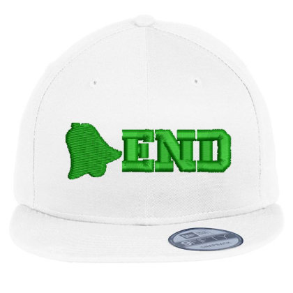 End Embroidered Hat Flat Bill Snapback Cap Designed By Madhatter