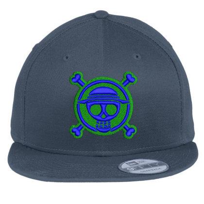 Skeleton Embroidered Hat Flat Bill Snapback Cap Designed By Madhatter