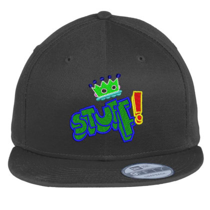 King Stuff Embroidered Hat Flat Bill Snapback Cap Designed By Madhatter
