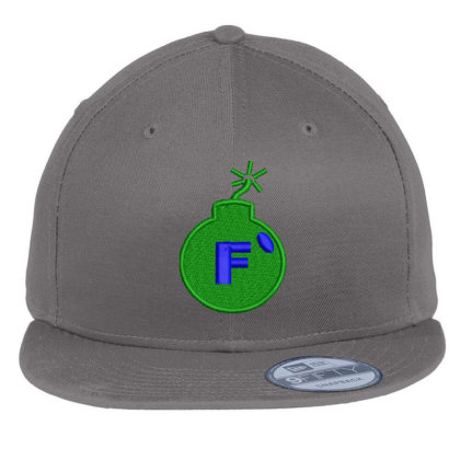 F * Embroidered Hat Flat Bill Snapback Cap Designed By Madhatter