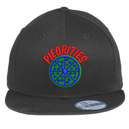 Pieorities Embroidered Hat Flat Bill Snapback Cap Designed By Madhatter