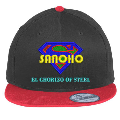 Sanoho Embroidered Hat Flat Bill Snapback Cap Designed By Madhatter