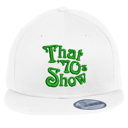 That 70's Show Embroidered Hat Flat Bill Snapback Cap Designed By Madhatter