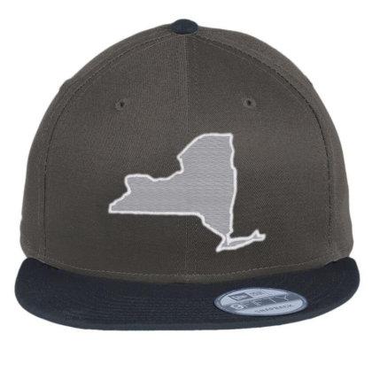 New York Flat Bill Snapback Cap Designed By Madhatter