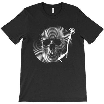 Death Tune T-shirt Designed By Glitchygorilla