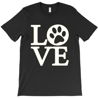 Dog Love 2020 T-shirt Designed By Faical