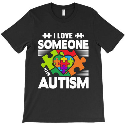 I Love Someone T-shirt Designed By Tht