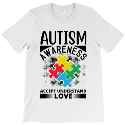 Autism Awareness T-shirt Designed By Tht