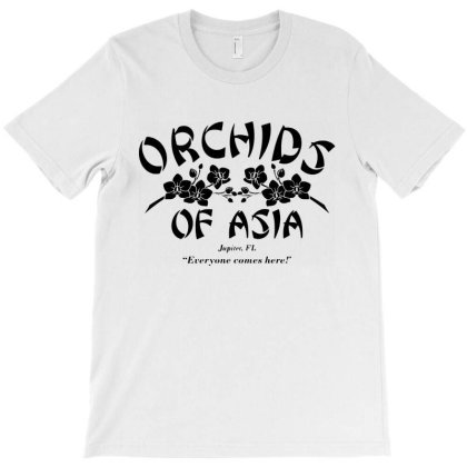 Orchids Of Asia Massage Parlor T-shirt Designed By Angel Tees