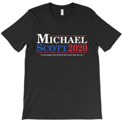 Michael Scott 2020 T-shirt Designed By Angel Tees
