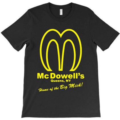 Mcdowell's Golden Arches T-shirt Designed By Angel Tees