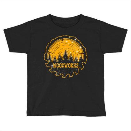 Woodworks Toddler T-shirt Designed By Badaudesign