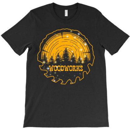 Woodworks T-shirt Designed By Badaudesign