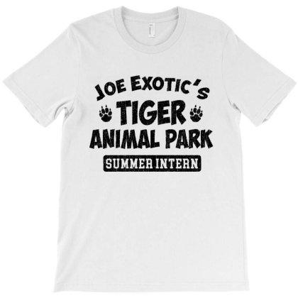 Joe Exotic's Tiger Animal Park Summer Intern T-shirt Designed By Angel Tees