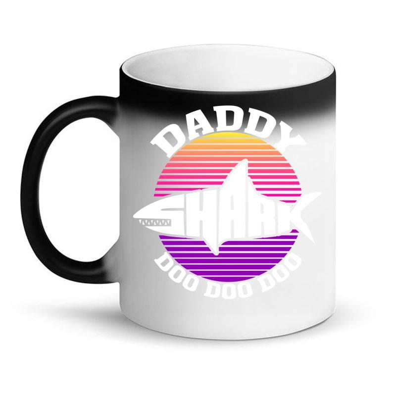 Daddy Shark Doo Doo Doo Magic Mug | Artistshot