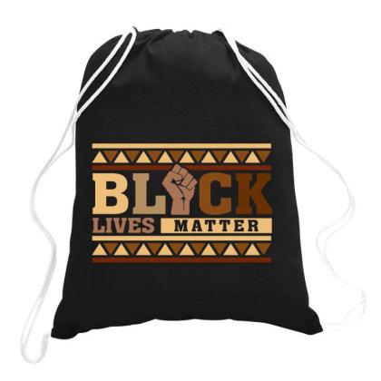 Black Lives Matter Drawstring Bags Designed By Badaudesign