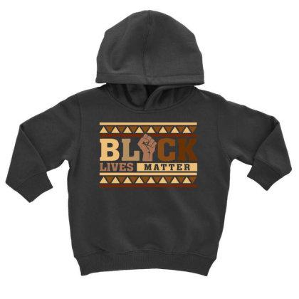 Black Lives Matter Toddler Hoodie Designed By Badaudesign
