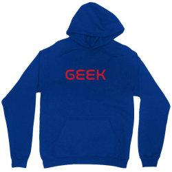 geek in nasa font Unisex Hoodie | Artistshot